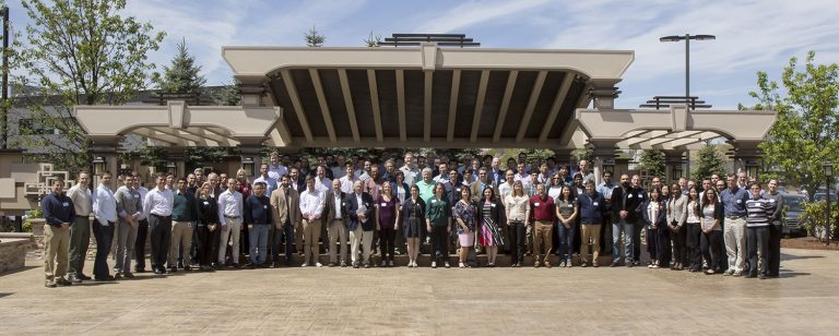 Attendees of the ADCIRC Users Group Meeting. Photo by Shangyao Nong.