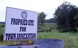 A 52-acre site is being considered for expansion of Princeville.
