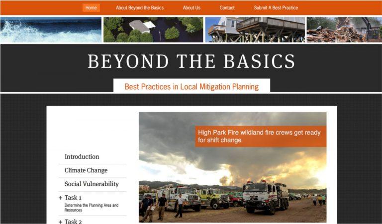 BTB website snapshot