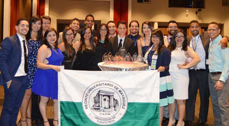 University of Puerto Rico-Mayaguez's award-winning team