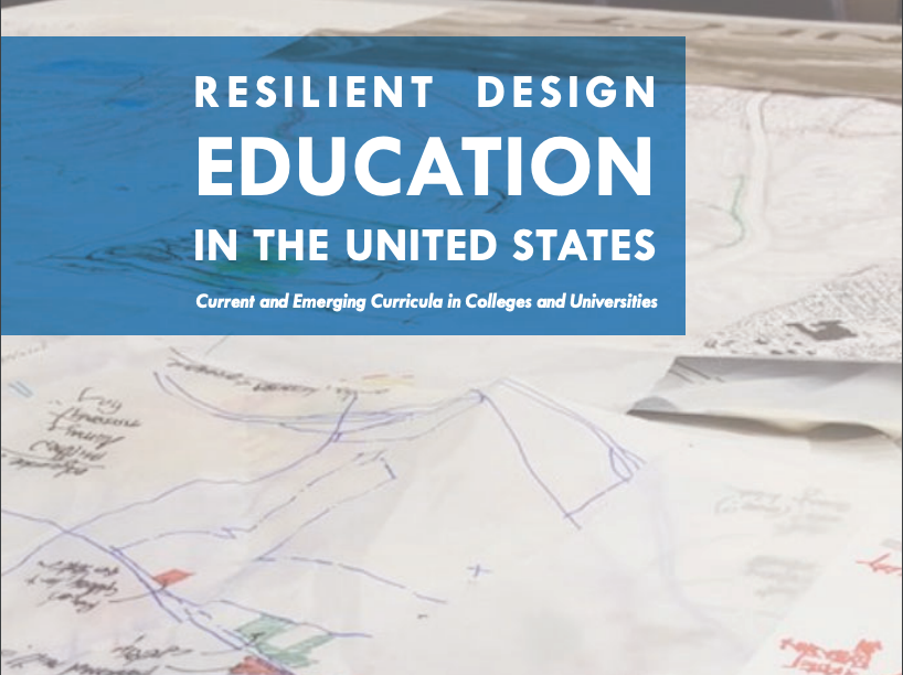 Resilient Design Education report cover