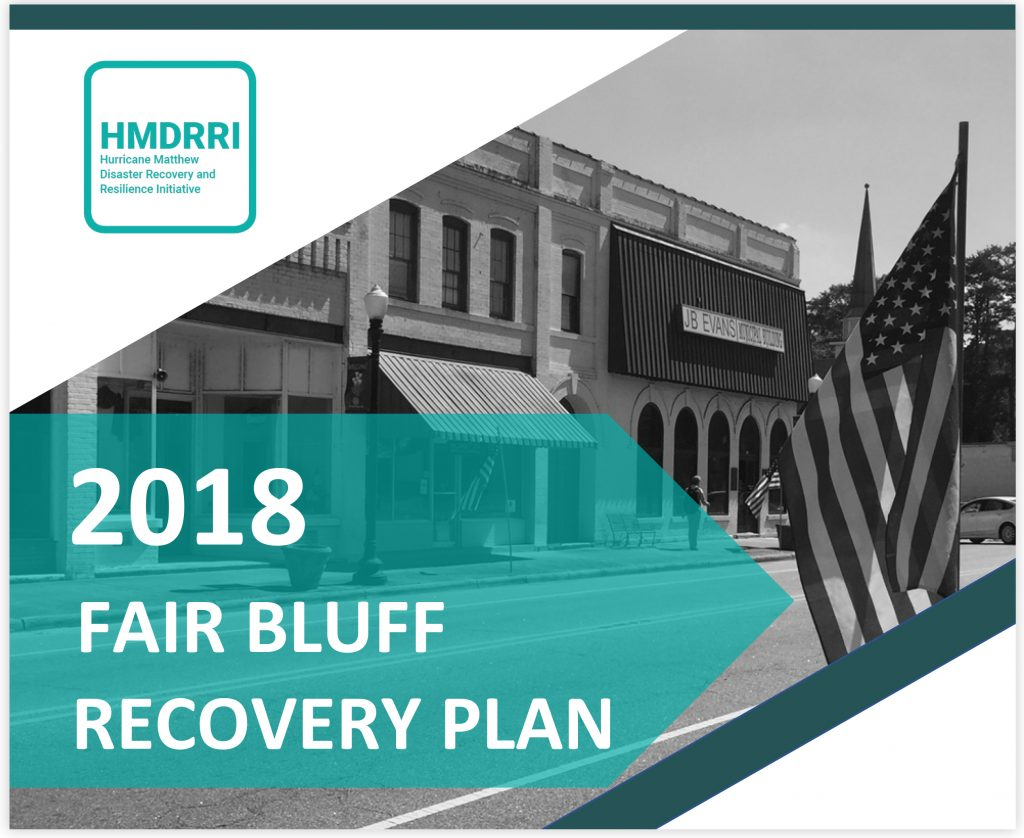Fair Bluff Recovery Plan cover