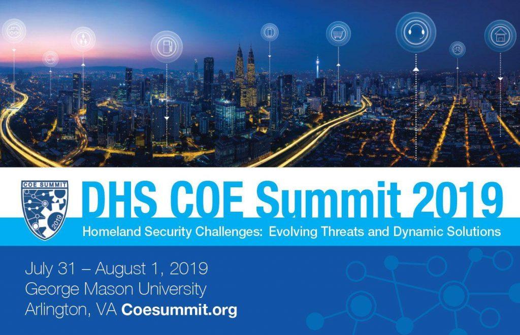 DHS COE Summit logo